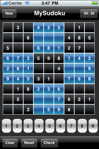 Screenshot Tatva Sudoku