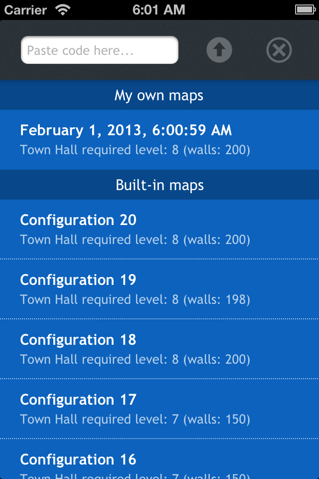 Screenshot C-of-C – Planner